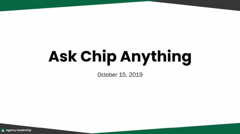 Ask Chip Anything - October 2019