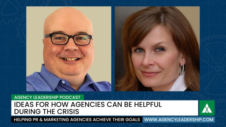 How agencies can be helpful during the crisis